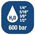 Катушка для воды - высокого давления 600 бар