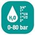 Катушка для воды - высокий расход 0-100 бар