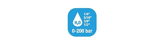 Катушка для воды стандартное давление 0-200 бар