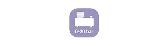 Сжатый воздух 0-20 бар